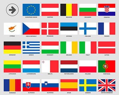 Oversættelse til og fra dansk inden for alle EU Sprog