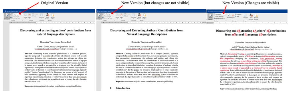 tekstredigering