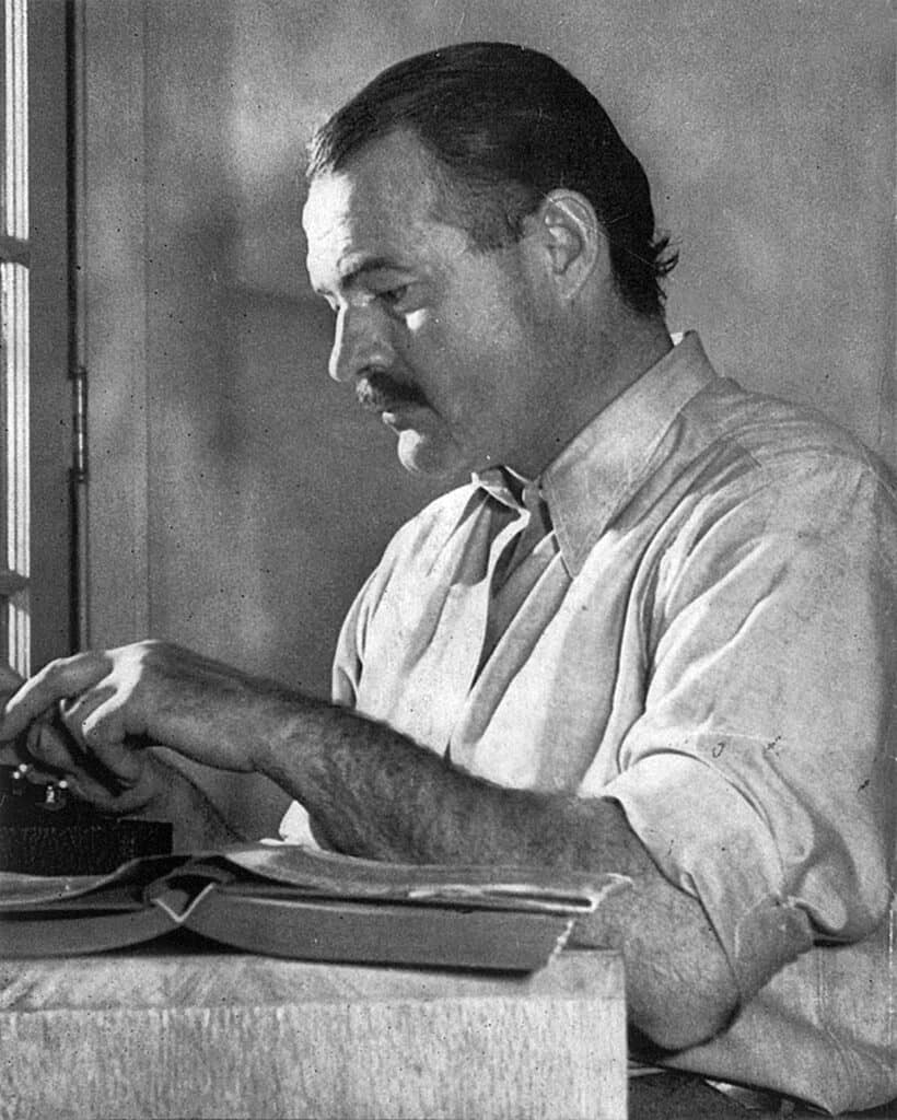 Even Ernest Hemingway worked closely with an academic editor